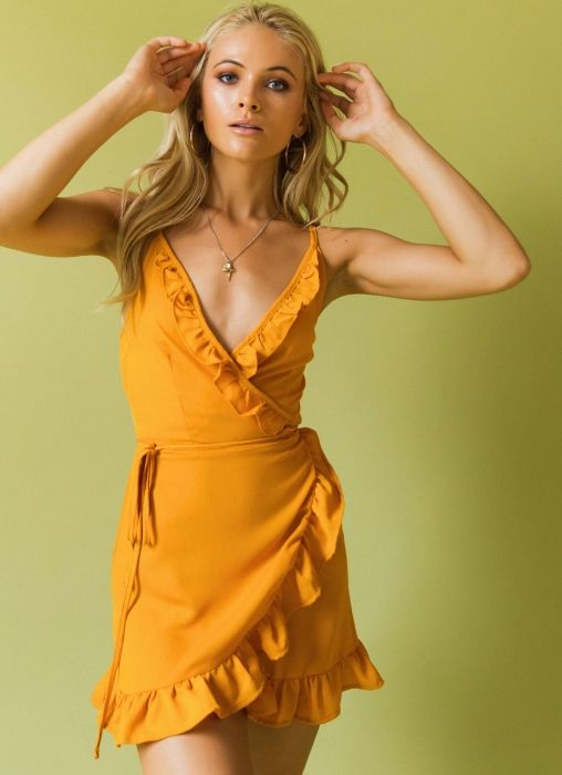7e08b08ce0f6f8 Turmeric Dress - Mustard