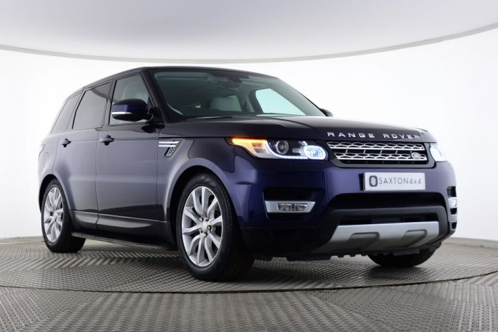 Used Land Rover Range Rover Sport SDV6 HSE Blue for sale Essex KS63DGY | Saxton 4x4