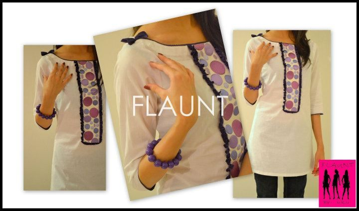 1. brand - flaunt 2. price - $15 3. store where you could find the item - local market