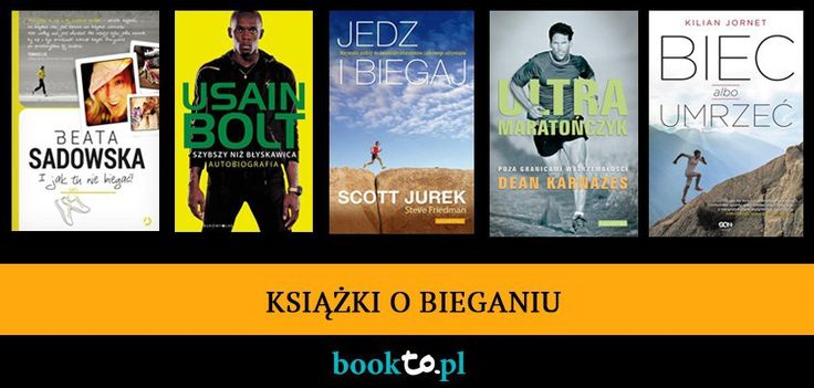 E-booki o bieganiu.
