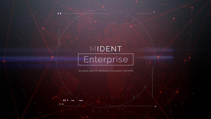 NEW #FCPX PLUGIN AVAILABLE! mIdent Enterprise - http://bit.ly/mIdentEnterprise #FCPX #FinalCutProX #VideoEditing #Apple #Design #Motion #Graphics