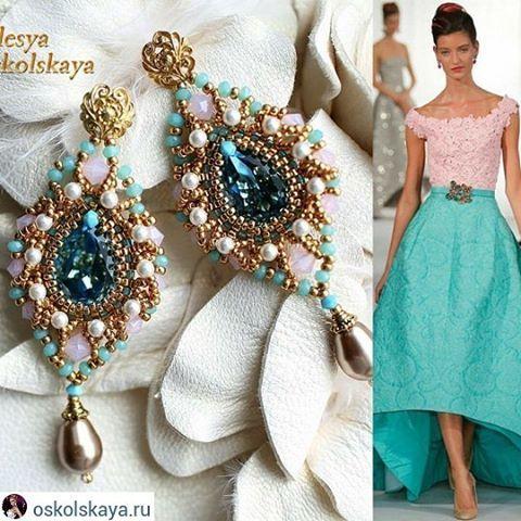 #EzRepost @oskolskaya.ru with @ezinsaveapp  #OlesyaOskolskaya #designer #fashionjewelry #jewelrydesigner #ручнаяработа #wardrobestylist #серьгилюстры #earring #accessories #summertime #fashionista #bridesmaid #сваровски #moscow #handmade #beadwork #beads #costumejewelry #collectible #weddingaccessories  #бисер  #fashionblogger #instafashion #swarovski #sparkle #купитьбижутерию #русскиедизайнеры #handmade_ru_jewellery