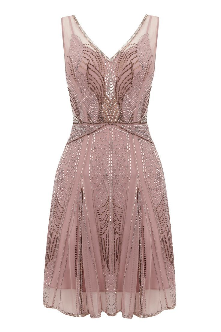 I like the beaded design on the dress. Im sure its too expensive for a bridesmaid dress. Im not crazy about the color, but the dress is adorable overall. CGD