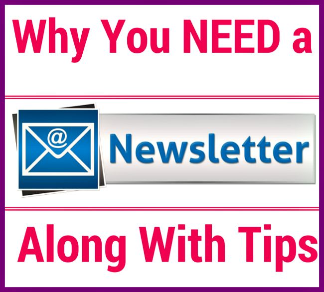 Why You NEED a Newsletter Along With Tips - http://www.tidbitsofexperience.com/why-you-need-a-newsletter-along-with-tips/http://www.tidbitsofexperience.com/wp-content/uploads/2015/04/Why-You-NEED-a-Newsletter-Along-With-Tips1.jpg First off, I want to thank my lovely subscribers for making me feel so utterly special for the past couple of days!! I hope you've had fun with your subscriber-only event. I truly appreciate having the ability to touch base with you on a personal l