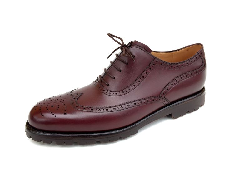 ZACHARIAS - Bespoke Full Brogue Oxford with Vibram outsole
