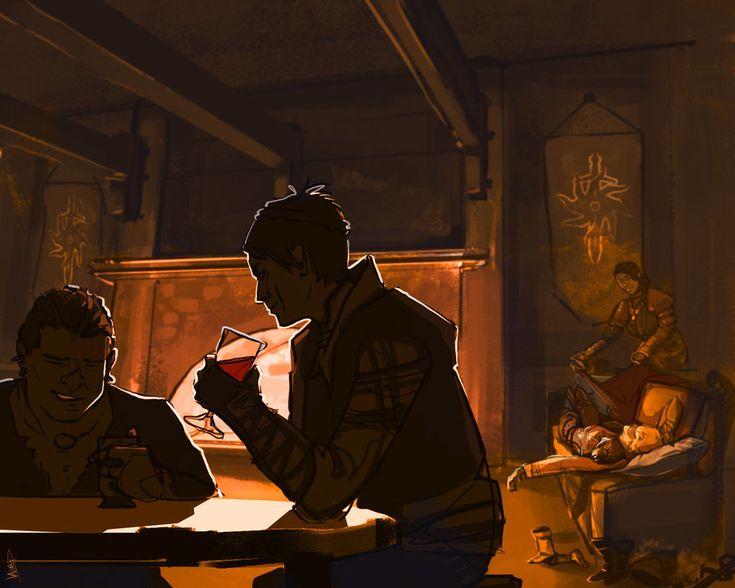After Hours at Skyhold by Kenu on DeviantArt