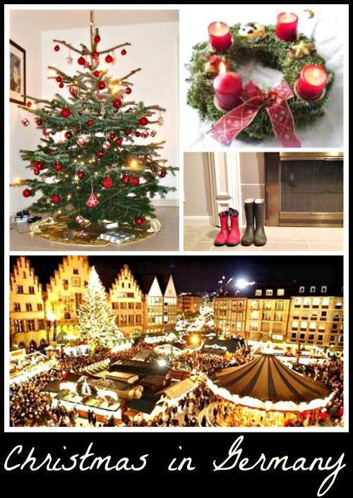 """Christmas in Germany: traditions, customs, food, and a recipe for Germany Christmas cookies called """"Googly Eyes"""" (cute!)"""