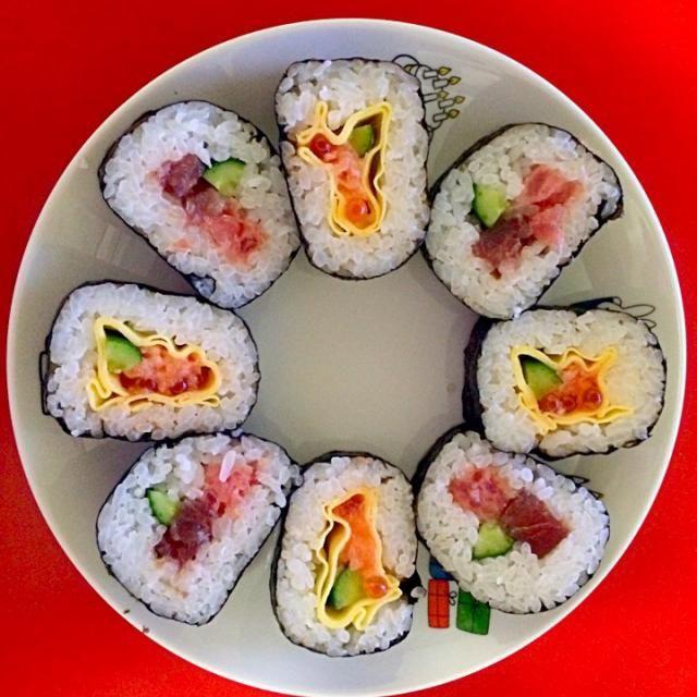 """レシピとお料理がひらめくSnapDish - 15件のもぐもぐ - """"Eho maki"""" by Moe"""