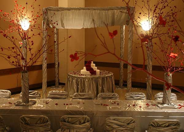 Ballon And Tulle Centerpices Ideas. Cheap Wedding Decorations, Fall ...