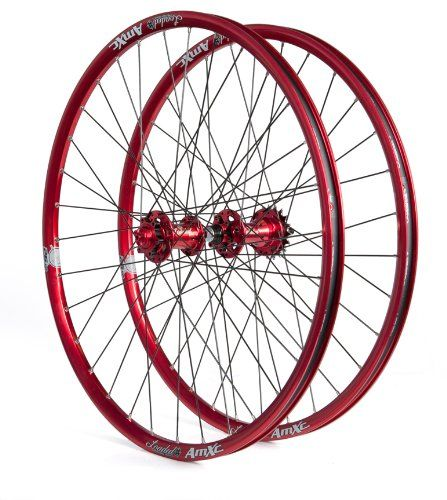 Loaded AmXC Signature Single Speed Wheelset Red 26Inch ** You can find more details by visiting the image link.