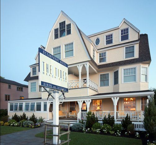 My favorite Bed & Breakfast. Its in Kennebunkport, Maine on Goose Rock Beach.
