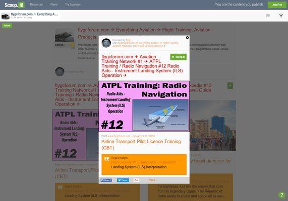 flygcforum.com ✈ Aviation Training Network #1 ✈ ATPL Training / Radio Navigation #12 Radio Aids - Instrument Landing System (ILS) Operation ✈