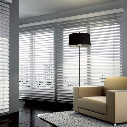 Choose Blinds.com Signature Wood Blinds for a designer look at a fraction of the price. These blinds will coordinate with your trim, furniture or flooring.
