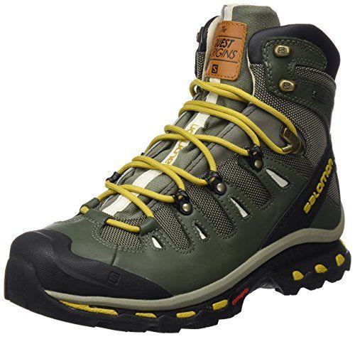 Salomon Men's Quest Origins 2 GTX Hiking Boots Tempest / Night Forest / Maize 7
