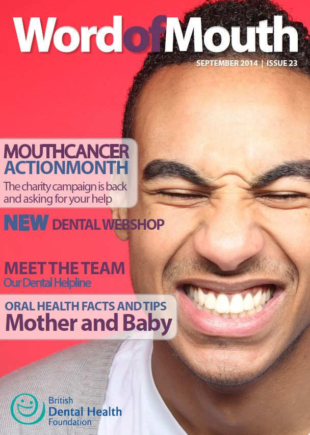 Hello, and welcome to the very latest edition of Word of Mouth. I'm delighted to announce to registration process for Mouth Cancer Action Month is now open. #wordofmouth #digitalmagazine #dentalhealth