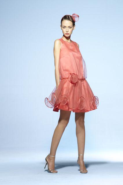 Collection soir Suzanne Ermann, robe Marceline Unie.