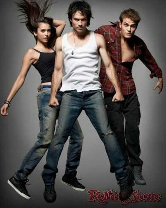 The Vampire Diaries love this pic :)