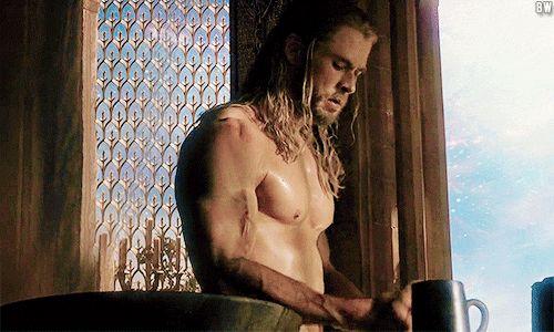 31 Times Chris Hemsworth Was Worthy Of Thor's Hammer