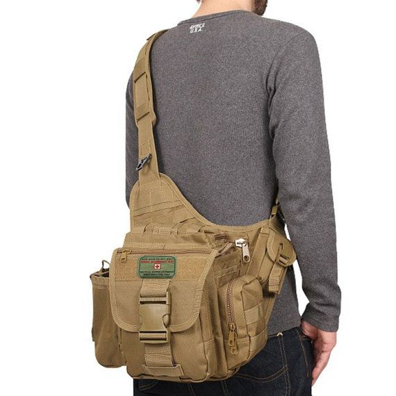 Daddy Doody Bag Military Style Tactical Diaper Bag by TacticalTot