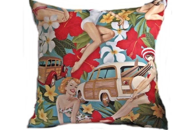1950's style Beach Babes (Green) by Jeez Louise on hellopretty.co.za