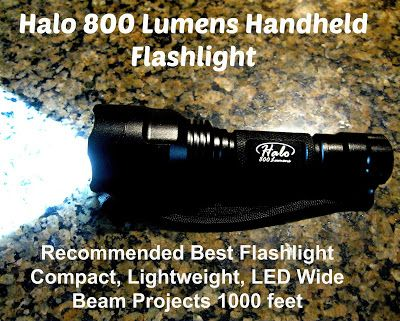 Review This!: Halo 800 Lumen Handheld Flashlight Review