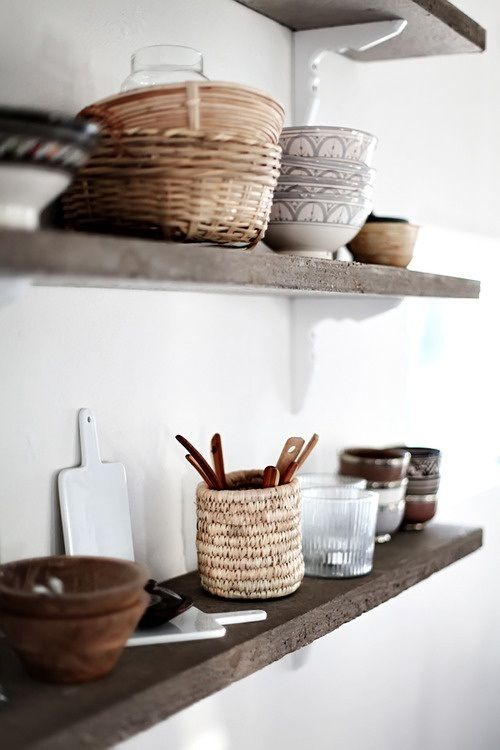 White meets rustic via the Style Files