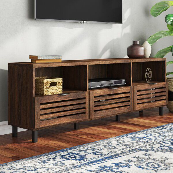 Nena Tv Stand For Tvs Up To 80 Inches Tv Stand Decor Living Room Furniture Living Room Tv Stand