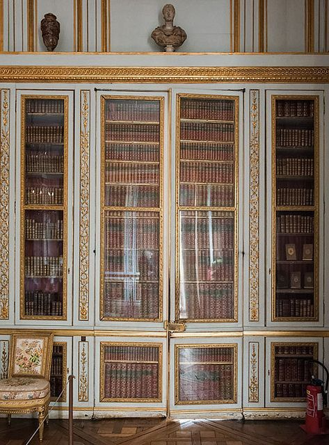 Versailles library of louis xvi paris pinterest for Chambre louis xvi versailles