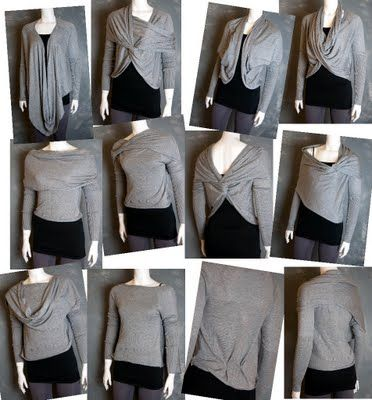 Convertible cardigans - I want!!