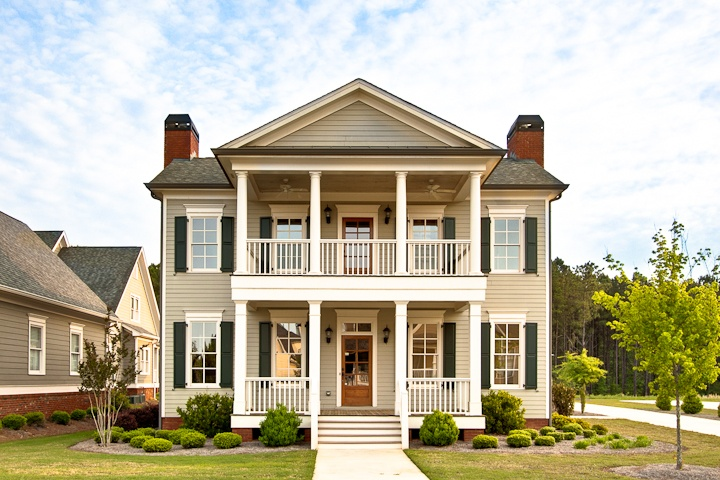 Symmetry house ideas pinterest story house porch for Two story house drawing