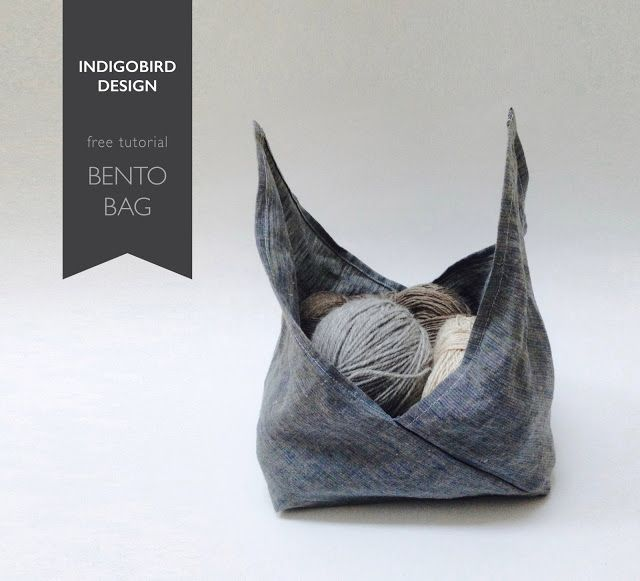 Bento Bag - indigobird design