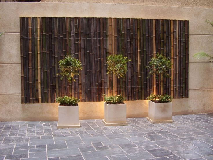 Las 25 mejores ideas sobre pared para patios en pinterest - Decoracion muros exteriores ...