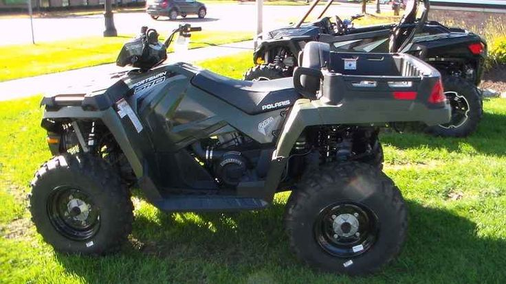 New 2017 Polaris Sportsman X2 570 EPS Sage Green ATVs For Sale in Michigan. 2017 Polaris Sportsman X2 570 EPS Sage Green, 2017 Polaris® Sportsman® X2 570 EPS Sage Green Features may include: Versatile 1-Up and 2-Up configuration Exclusive VersaTrac selectable, locking rear differential Rear dump box with 400 lb. capacity HARDEST WORKING FEATURES VERSATILE 1-UP AND 2-UP CONFIGURATION Easily switches from 1-up work and trail mode to 2-up trail mode in less than 10 seconds. REAR DUMP BOX WITH…