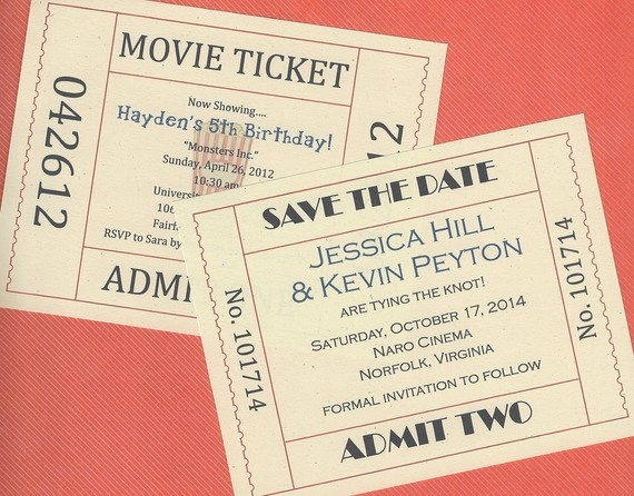 16 best Sweet 16 images on Pinterest Ticket invitation, Sweet 16 - movie ticket invitations template