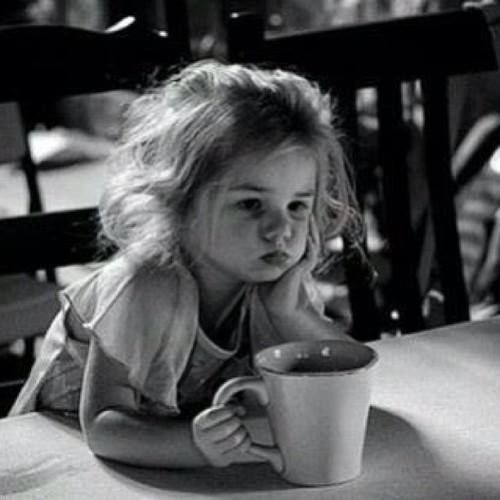 Such a cute pic. Sometimes we all just need a break with a cup of coffee.