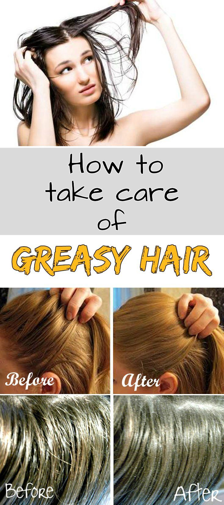 how to make hair look less greasy