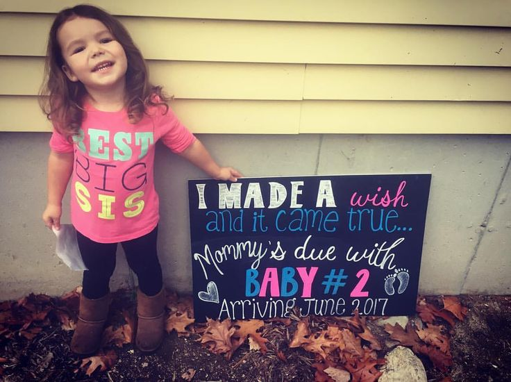 The 25 best Second pregnancy announcements ideas – Second Baby Announcement Ideas