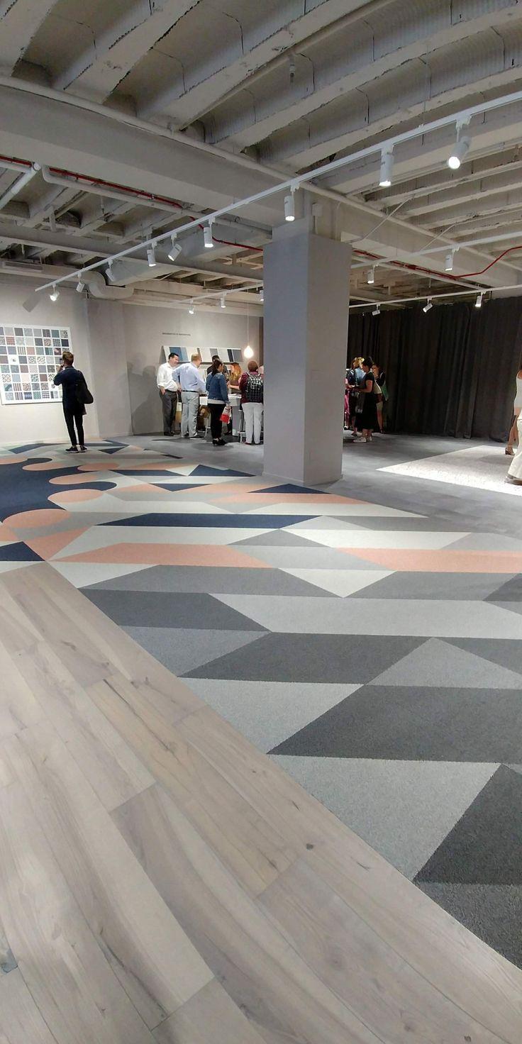 Shaw Contract commercial flooring showroom NeoCon 2018