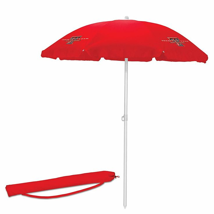 Picnic Time Umbrella - Texas Tech