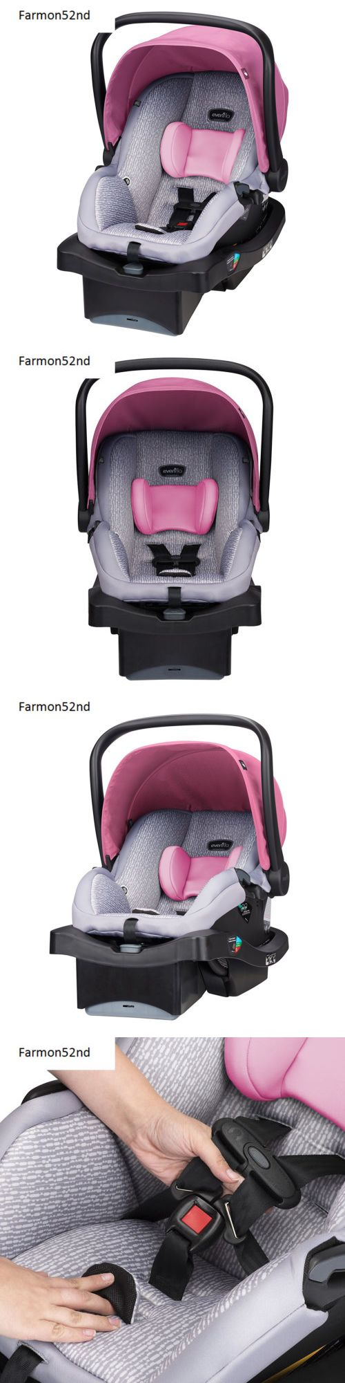 Other Car Safety Seats 2987: Infant Car Seat Baby Car Ride Azalea Color -> BUY IT NOW ONLY: $153.04 on eBay!