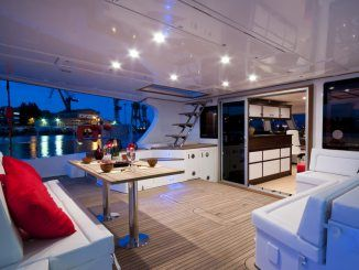 IN THE WIND | Luxury yacht charters | Catamaran for charter | Sunreef Yachts Charter
