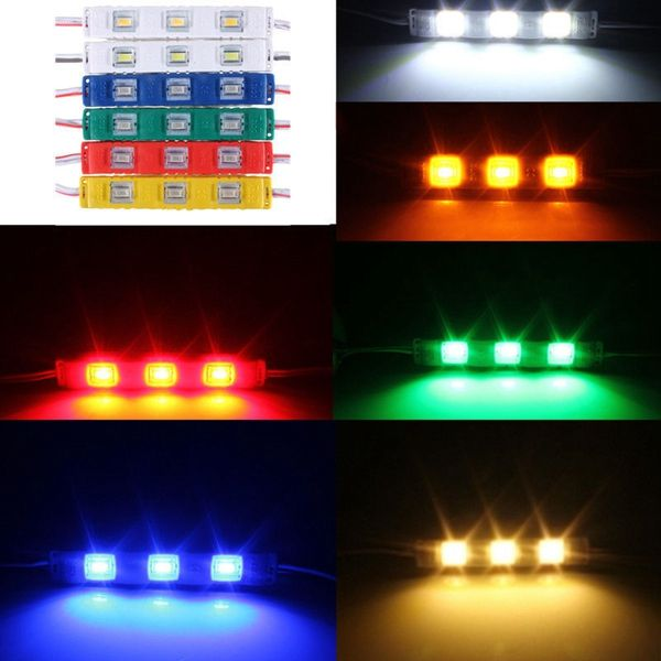 Led 3 Smd 5630 Module Injection Decorative Waterproof Strip Light 12v Strip Lighting Led Lights