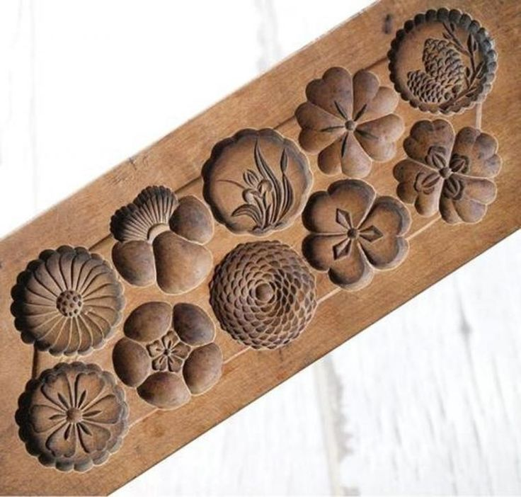 Японские «пряничные доски» кashigata: резные формы для приготовления «rakugan» - Ярмарка Мастеров - ручная работа, handmade
