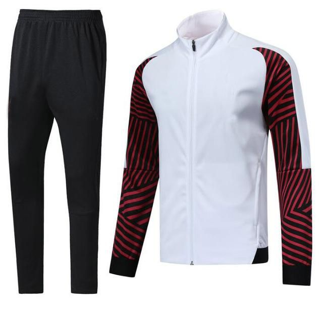 6814012cc 2018 2019 New Coat Jacket Thicken Sports jacket set Long Sleeve 18 19 Men  Football Training