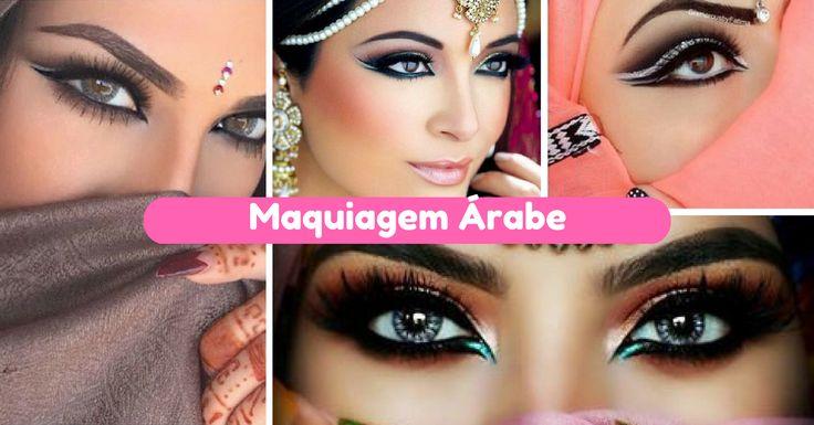 Dicas e Tutorial de Maquiagem Árabe - http://webfeminina.com/dicas-e-tutorial-de-maquiagem-arabe/