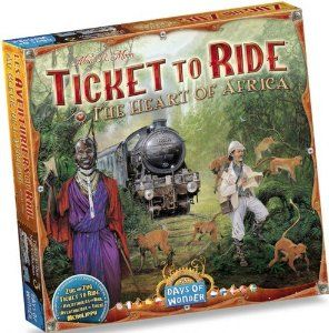 Ticket to Ride Map Collection Board Game: The Heart of Africa, Volume #3  Features: Expansion to Ticket to Ride and Ticket to Ride Europe Adds depth and complexity This expansion requires the trains and train cards from an original copy of Ticket to Ride or Ticket to Ride Europe to play