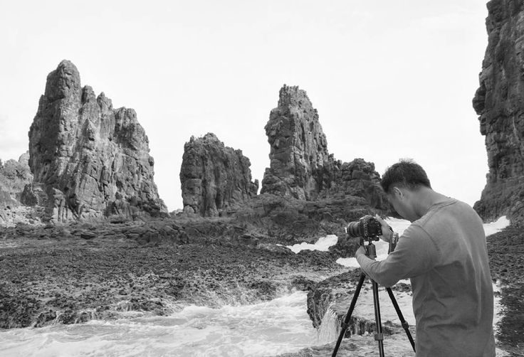 Batu Gunting Tempos Beach South of Lombok  #photography #landscaper #wildadventures #IamNikon #centraloflombok #black&white