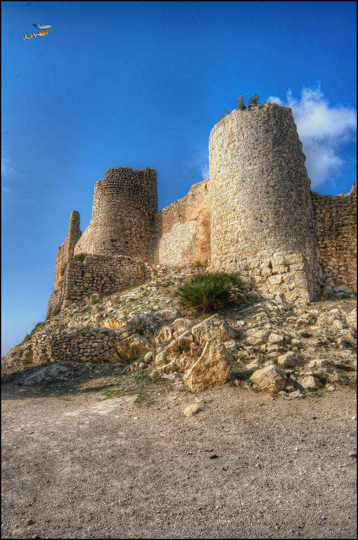 https://flic.kr/p/21TBhVd | 8102 - Castell i Despoblat de Xivert - IV | Castell i despoblat de Xivert (Baix Maestrat) País Valencià ////