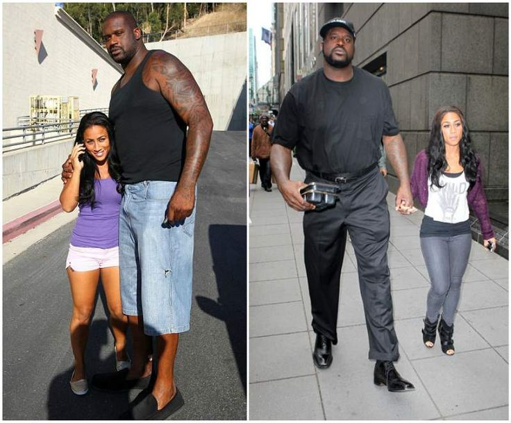 Shaquille O'Neal's now-ex girlfriend Nicole Alexander