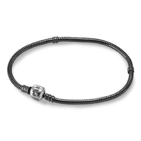 Браслет, оксидированное серебро 925 - 590702OX (размер 7,1)- Браслеты   PANDORA